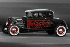 Every hot rod needs flames.
