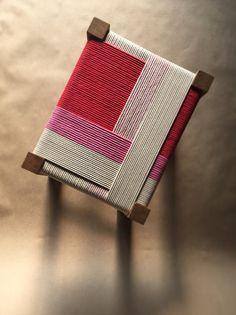 Paper Goods & Artwork by designer-maker Jo Elbourne, based at Resort Studios in Cliftonville, Margate. Eco Furniture, Small Furniture, Handmade Furniture, Upcycled Furniture, Furniture Makeover, Furniture Design, Casa Wabi, Macrame Chairs, Woven Chair