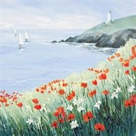 Coming Around The Point by Judi Trevorrow. Available through Cornwall Art Galleries Seaside Art, Areas Of Life, Fishing Villages, Michelangelo, Painting Inspiration, Ocean Paintings, Floral Paintings, Illustration Art, Illustrations