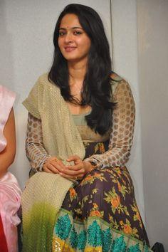 Anushka Shetty at TeachAids Pressmeet
