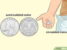 4 Ways to Collect Coins - wikiHow How To Clean Copper, To Collect, Bullion Coins, Uncirculated Coins, Coin Collecting, History, Memes, Fun, Collection