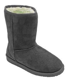 Gray Boot.