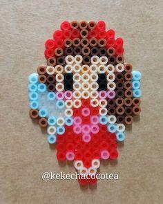 Rosetta perler beads by kekechacocotea