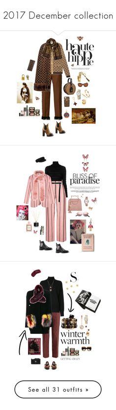 """""""2017 December collection"""" by mbarbosa ❤ liked on Polyvore featuring Haute Hippie, Marco de Vincenzo, Gucci, Dolce&Gabbana, Louis Vuitton, Estée Lauder, Lanvin, 1928, Valentino and Alexander McQueen"""
