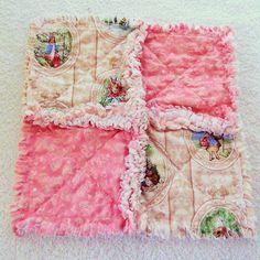 Peter Rabbit Baby Rag Quilt