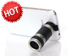 Phone Camera Lens 8x Zoom Telescope Case for Samsung Galaxy NOTE2 N7100 71JT 4   eBay