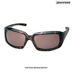 They come in tortoise brown or black these  Peppers Sophia Women's Polarized Sunglasses at nomorerack.com are 63% off. Sign up now and receive 10 dollars off your first purchase