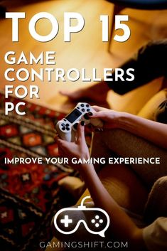 If you are a PC gamer and never play with a game controller, It is time to move from the well-known keyboard a mouse and try to spice your gaming experience. There are definitely game genres that are more enjoyable with a game controller. Check these top 15 game controllers for pc so you can improve your gaming experience. #gaminggear #gamecontroller Playstation 4 Console, Playstation 5, All Video Games, Xbox 360 Controller, Gaming Tips, Fighting Games, Pc Gamer, Indie Games, Video Game Console