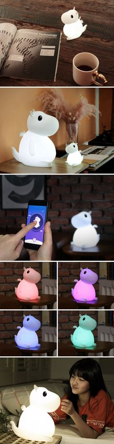 Reminiscent of Baymax, the adorable fluffy robot companion from the movie Big Hero 6, Bero is a friendly smart-lamp that lights up, bringing an affectionate warmth to your home. The Bero is a perfect addition to a child's room, providing them with a lovely friend who they can trust or confide in, while also being a beacon of light, hope, and happiness for them.