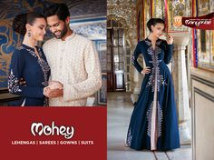 India's leading #Celebration #Wear brand now offers handpicked attires for women across major cities in India. Mohey