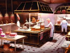 Pixar Drawing Ratatouille Concept Art More - I cook.And I like to eat. Animation 3d, Animation Disney, Animation Sketches, Animation Studios, Animation Movies, Pixar Concept Art, Disney Concept Art, Disney Pixar, Disney Movies
