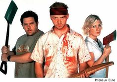 shaun of the dead, film, horror, horror movies, comedy, nick frost, simon pegg, Kate Ashfield, 2004, 2000s