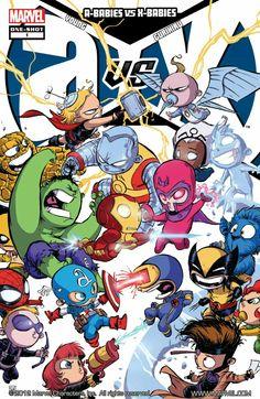 Baby Avengers_Skottie Young_Gurihiru