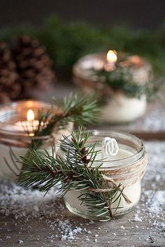 DIY Wedding Favors/ http://www.deerpearlflowers.com/winter-wedding-ideas/4/