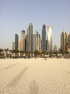 Pláž v Dubai