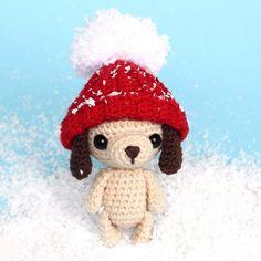 Собачка амигуруми игрушка крючком