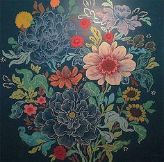 Louise Chen, mais conhecida como Ouizi, é uma artista que se inspira muito nos padrões florais e elementos da natureza. Conheça sua arte!