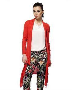 Bludeise Pleated Cardigan Europe - Cardigans - Apparel at Viomart.com