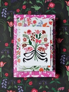 absolutely beautiful- I want to frame this gift wrap!