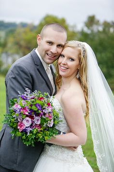 DeMuth-Eggleston Wedding Photo By Visions by Heather Bride and groom Allure 8901