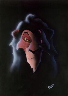Scar - The Lion King Fan Art (14095117) - Fanpop