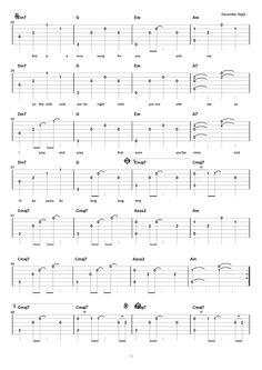 09. December Night - Guitar & Tea 吉他教學網誌 - 無名小站