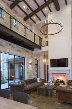 Contemporary Italian Farmhouse in Texas with a rustic style and steel elements designed by Vanguard Studio Inc. Italian Farmhouse Decor, Italian Home Decor, Italian Interior Design, Mediterranean Home Decor, Contemporary Interior Design, Farmhouse Contemporary, Farmhouse Interior, Modern Contemporary, Italian Style Home
