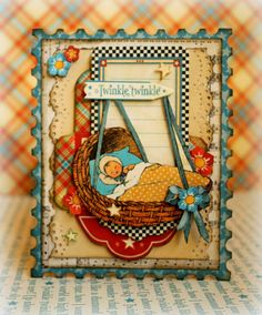 I made this card for Paperhaus with the amazing Graphic 45 Mother Goose collection #Graphic45 #Cards #MotherGoose