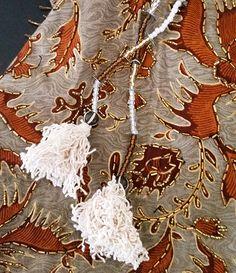 Alice Embellished Tassel Key Ring / Bag Accessory