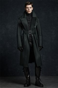 Belstaff Menswear Fall Winter 2012-13 Trenchcoat (Sherlock's new coat, anyone?  -A)