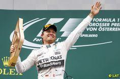 Paul English Formula 1: Rosberg steps up in Austria