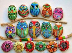 Image result for thanksgiving painted rocks