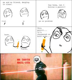 Rage Comics: Best pencil of all time.