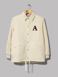 A Kind Of Guise Koromo Coach Jacket (Off White)