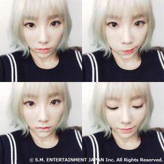 2016.01.09 SONE JAPAN Blog update with Taeyeon!
