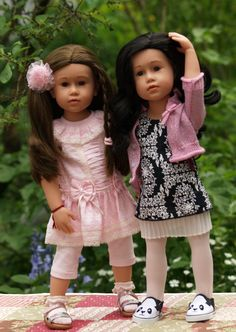 Götz Doll Charlotte 2016 and 2017 Photo Petra J. Cobia's Dolls