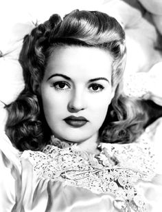 Betty Grable - Dec 18, 1916 - Jul 2, 1973 (age 56) Cause of death: Lung Cancer  Notable Work: having the most beautiful legs in Hollywood
