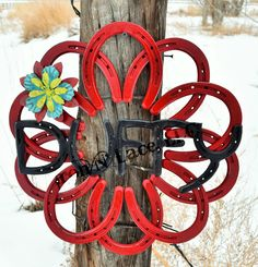Horseshoe wreath with name Horseshoe Wreath, Iron, Wreaths, Lace, Door Wreaths, Irons, Deco Mesh Wreaths, Floral Wreath, Garland