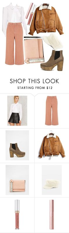 """""""OOTD 1/24/18"""" by angelsaffairs ❤ liked on Polyvore featuring Topshop, Truffle, ASOS and Too Faced Cosmetics"""
