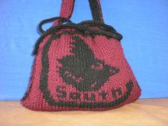 South Carolina Game Cocks Knitted Handbag by katewalter1 on Etsy, $40.00