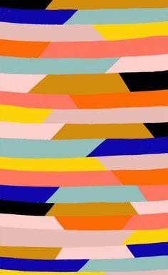 Pattern illustration by Ashley Goldberg Geometric Patterns, Cool Patterns, Abstract Pattern, Print Patterns, Modern Patterns, Painting Patterns, Boho Pattern, Pattern Art, Pattern Design