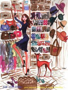 """Hai pensato al tuo """"Riordino del guardaroba""""? Un """"inventario"""" del tuo armadio stagionale per capire cosa tenere o rivalutare, cosa manca, cosa eliminare...."""
