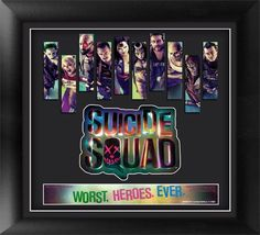 Suicide Squad Framed Movie Art | The Next Best Thing