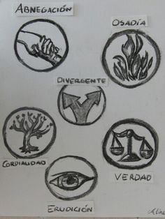 Divergent Symbols.. Divergent Symbols, Artwork, Artist, Truths, Divergent, Illustrations, Work Of Art, Auguste Rodin Artwork, Artists