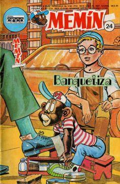 MEMÍN PINGUÍN (SEPIA) Nº24 - (ALTA CALIDAD) - [EXCLUSIVO] Vintage Comic Books, Vintage Comics, Magazines For Kids, Thundercats, Baja California, Mexican Art, Comic Covers, Chocolate Angel, Nostalgia