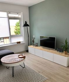 Living room - Take a look at # - Schlafzimmerdekoration - Wohnzimmer Living Room Decor Brown Couch, Living Room Paint, Home Living Room, Apartment Living, Interior Design Living Room, Living Room Designs, Cama Design, Room Colors, Bedroom Decor