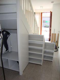 Uittrekbare trapkasten