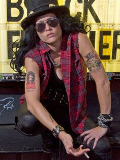Guns N Roses Slash Kostüm selber machen | Kostüm Idee zu Karneval, Halloween & Fasching