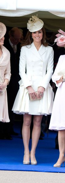 Kate in McQueen, Order of the Garter 2012