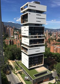 Living Energy Building in Medellín, Colombia by M+Group